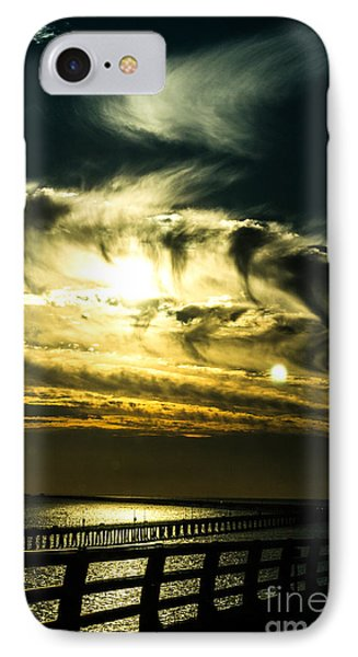 IPhone Case featuring the photograph Bay Bridge Sunset by Angela DeFrias
