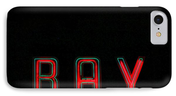 Bay In Neon  Phone Case by Kris Hiemstra
