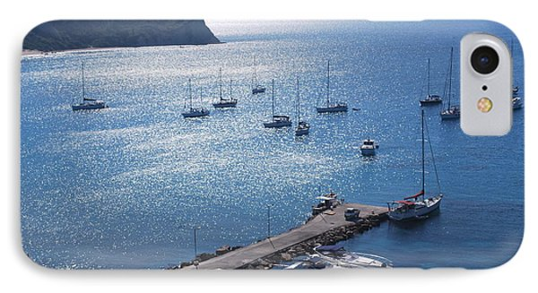 IPhone Case featuring the photograph Bay Of Porto by George Katechis