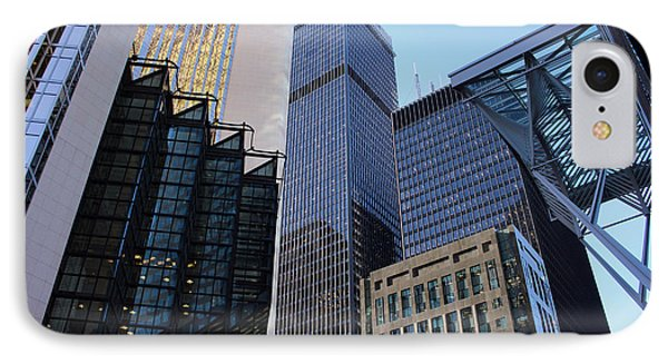 Bay Street Toronto IPhone Case by Nicky Jameson