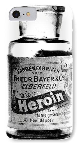 IPhone Case featuring the photograph Bayer Company Sells Heroin Around 1900 by Merton Allen