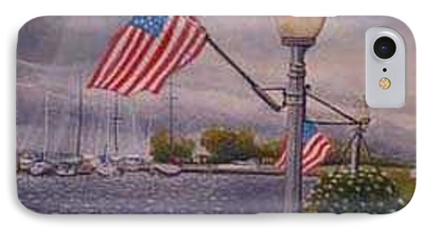 Bayfield On The 4th Phone Case by Rick Huotari