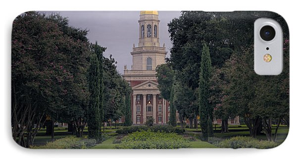 Baylor University Icon IPhone Case by Joan Carroll