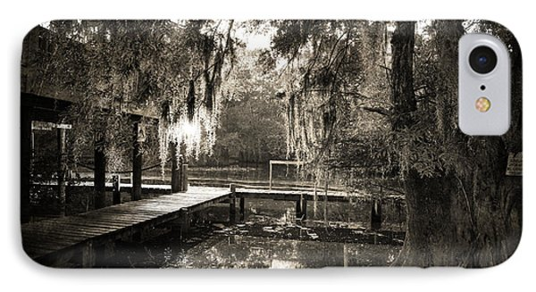 Bayou Evening Phone Case by Scott Pellegrin