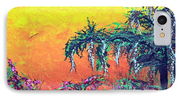 IPhone Case featuring the painting Bayou Honeymoon by Alys Caviness-Gober