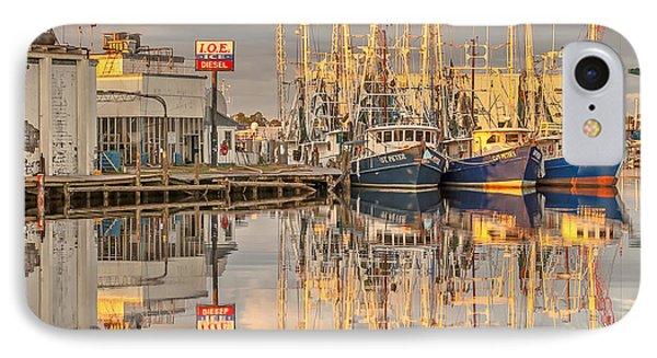 Bayou La Batre' Al Shrimp Boat Reflections 39 Phone Case by Jay Blackburn