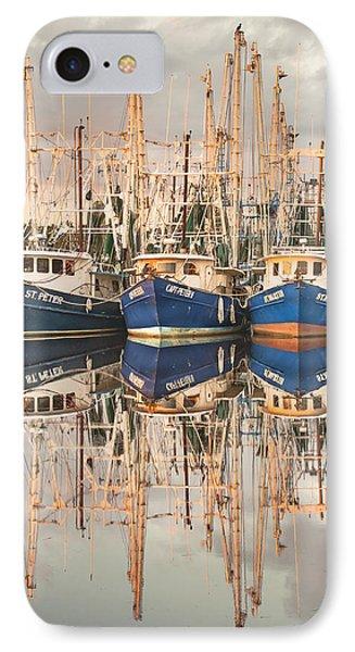 Bayou La Batre' Al Shrimp Boat Reflections 41 IPhone Case