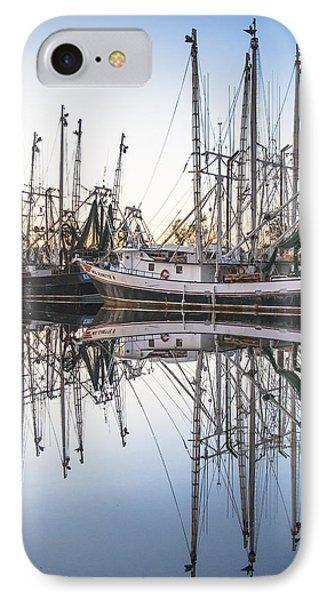 Bayou La Batre' Al Shrimp Boat Reflections 44 IPhone Case