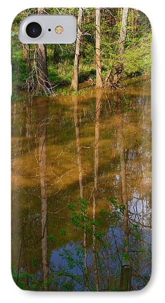 Bayou Reflections IPhone Case by Connie Fox