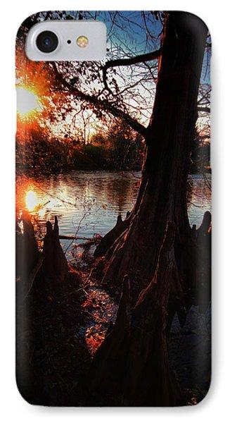 IPhone Case featuring the photograph Bayou Sundown by Robert McCubbin
