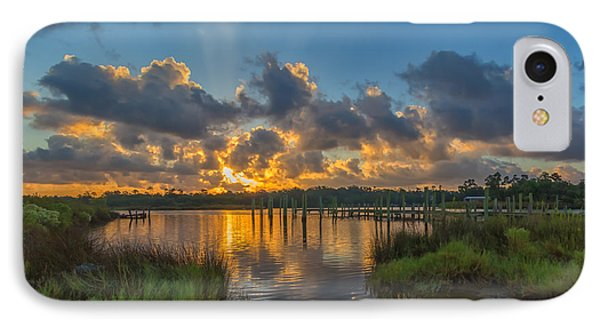Bayou Sunrise IPhone Case by Brian Wright