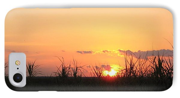 IPhone Case featuring the photograph Bayou Sunset by John Glass