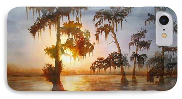 Bayou Sunset IPhone Case