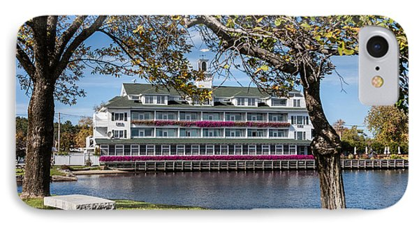 Baypoint Inn At Mill Falls Meredith Nh IPhone Case