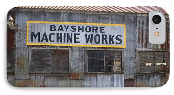Bayshore Machine Works  Phone Case by Kym Backland