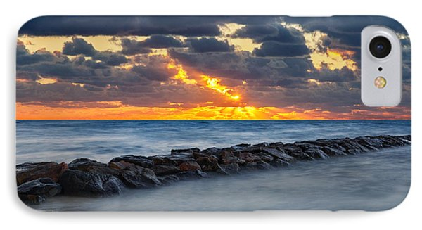 Bayside Sunset Phone Case by Bill Wakeley