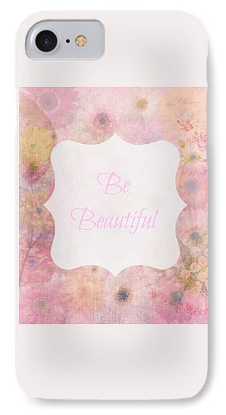 Be Beautiful Daisies IPhone Case by Inspired Arts