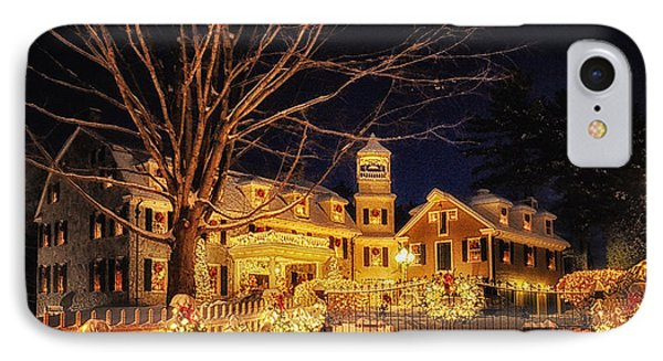 Merry Christmas  IPhone Case by Tricia Marchlik