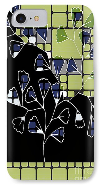 Be-leaf - Green 02ab03 IPhone Case by Variance Collections