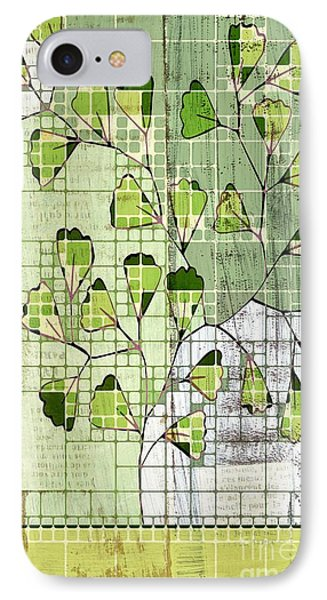 Be-leaf - Green 03-ab202t2 IPhone Case by Variance Collections