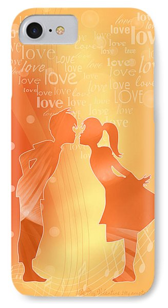 Be My Valentine Phone Case by Gayle Odsather