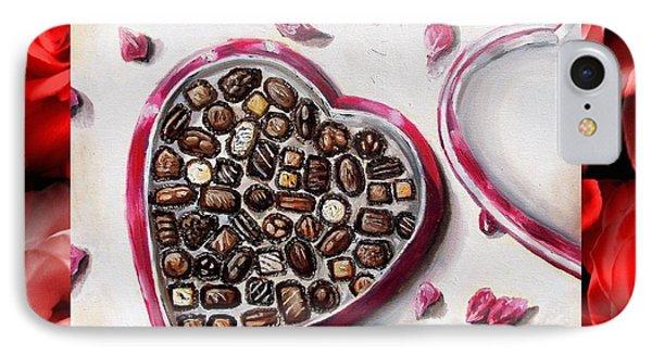 Be My Valentine Phone Case by Shana Rowe Jackson