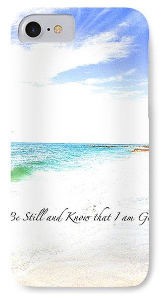 IPhone Case featuring the photograph Be Still #3 by Margie Amberge