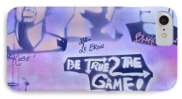 Be True 2 The Game 1 Phone Case by Tony B Conscious