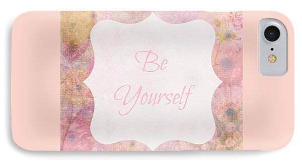 Be Yourself Daisies IPhone Case by Inspired Arts