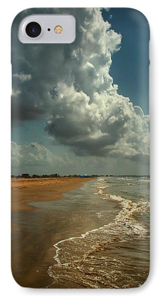 Beach And Clouds IPhone Case