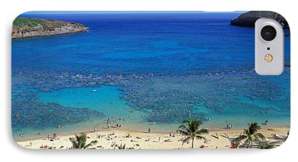 Beach At Hanauma Bay Oahu Hawaii Usa IPhone Case
