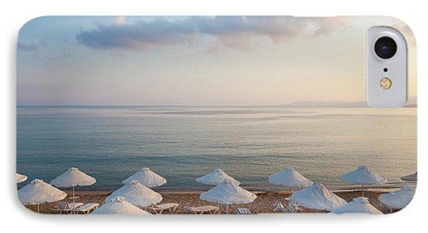 Beach At Pefkos, Near Lindos, Lardos IPhone Case