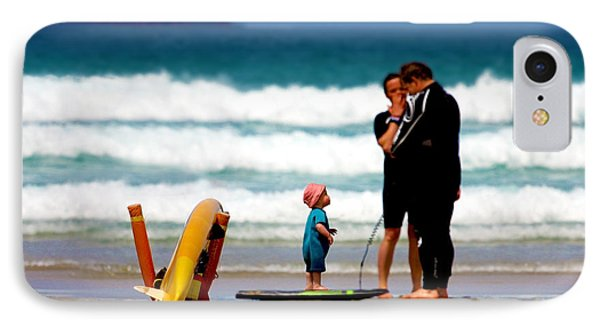 Beach Baby IPhone Case by Terri Waters