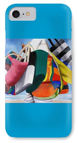 Beach Bag Vendor IPhone Case