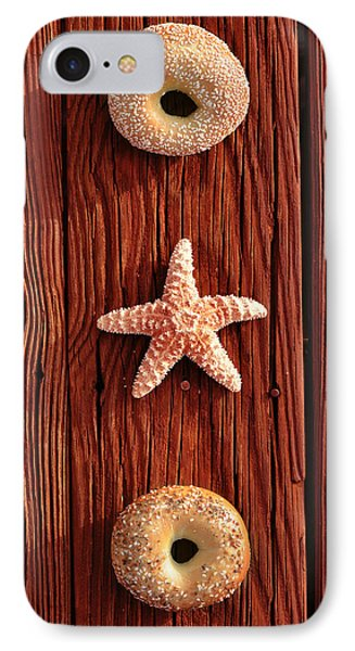 Beach Bagels IPhone Case by Laura Fasulo