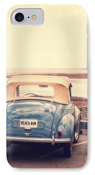 Beach Bum IPhone Case by Edward Fielding
