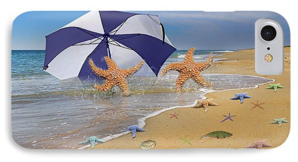 Beach Bums Phone Case by Betsy Knapp