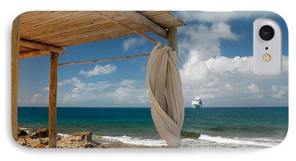 Beach Cabana  Phone Case by Amy Cicconi