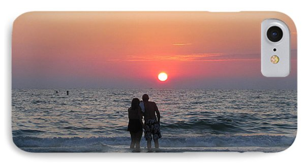 Beach Couple Clearwater Sunset IPhone Case