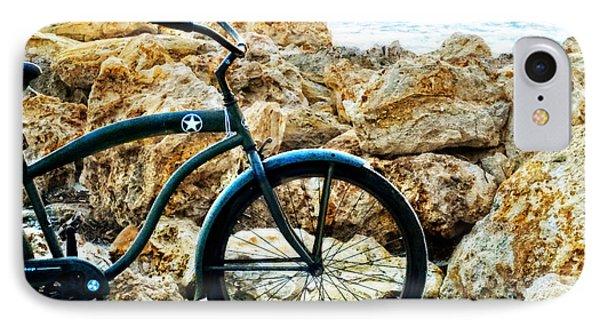 Beach Cruiser - Bicycle Art By Sharon Cummings IPhone Case