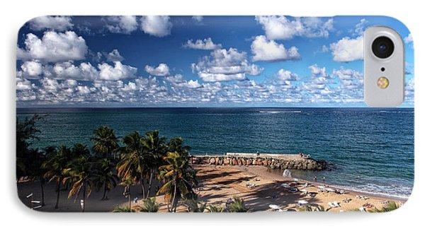 Beach Day At San Juan Phone Case by John Rizzuto