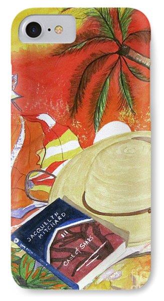 Beach Day IPhone Case by Carol Flagg