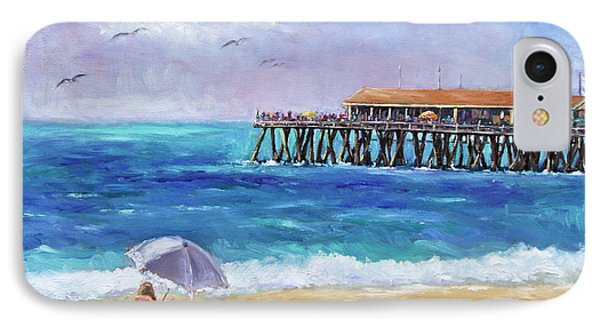IPhone Case featuring the painting Beach Day by Jennifer Beaudet