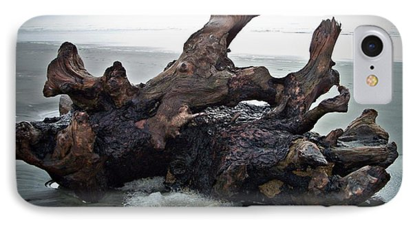 Beach Driftwood In Color IPhone Case