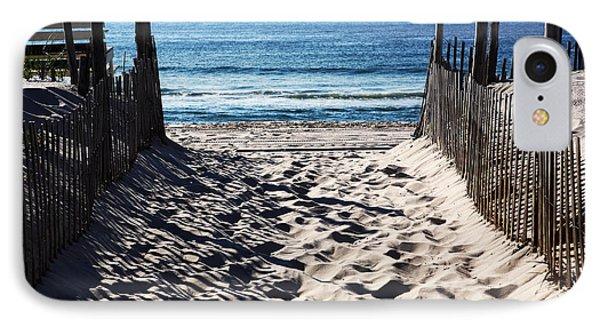 Beach Entry Phone Case by John Rizzuto