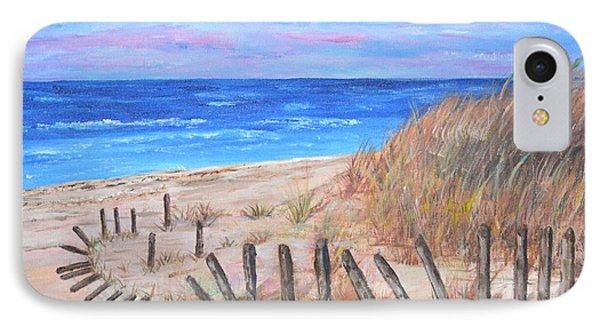 Beach Fence IPhone Case