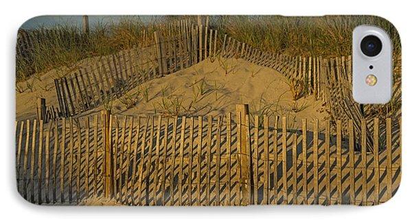 Beach Fence Phone Case by Susan Candelario