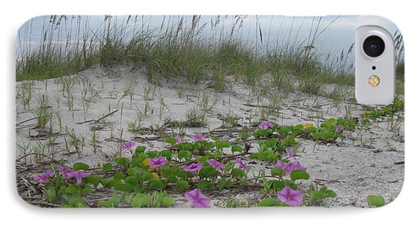 Beach Flowers IPhone Case