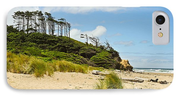IPhone Case featuring the photograph Beach Forest by Crystal Hoeveler