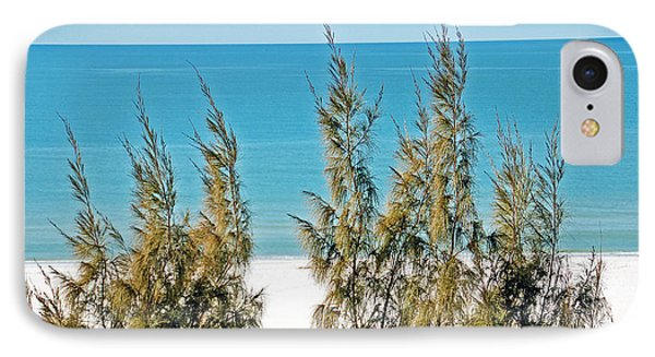 Beach Front View Phone Case by Aimee L Maher Photography and Art Visit ALMGallerydotcom